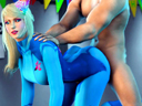 Samus Aran Creampie Birthday Party play